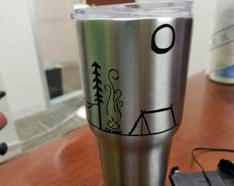 Custom Stainless Steel Tumbler 30oz.