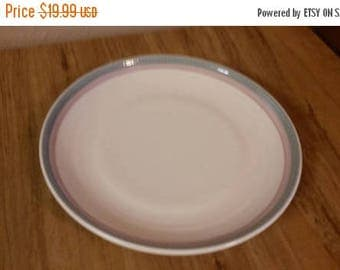 on sale pink aura pattern pfaltzgraff 10 inch stoneware dinnerchop plate with light green - Pfaltzgraff Patterns