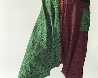HO0005 Rayon baggy unisex harem pants,Thai rayon Style Harem Yoga Pants, Harem pants