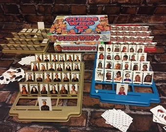 Custom Guess Who Game. Guess It Game. Friends Version. Comes w Original Guess Who Game