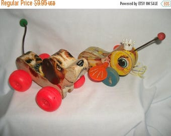 25% OFF Sale Fisher Price Queen Buzzy Bee and Little Snoopy