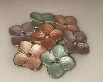 Vintage Forget me Not Pin