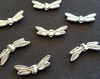 Kid: 500 piece Angel Wing Dragonfly silver Light 20mm protection Angel Tinker