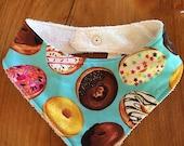 Donut Bandana Bib