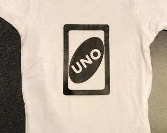 UNO ~ one year old ~ 1st Birthday Outfit