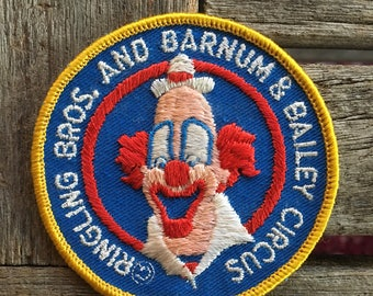 Ringling Brothers and Barnum and Bailey Circus Souvenir Travel Patch