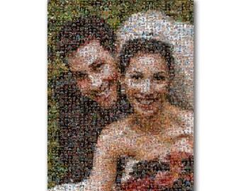 Mosaic Photo Collage