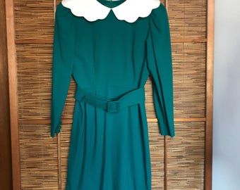 Vintage Japanese designer Hanae Mori boutique dress