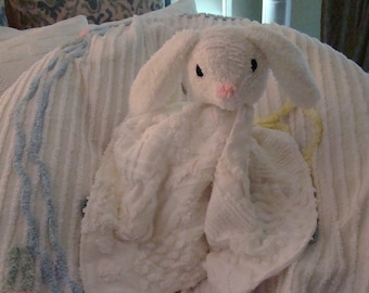 Bunny Lovey-Security Blanket