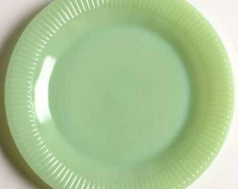 Fire King Jane Ray Jadeite Jadite Dinner Plate