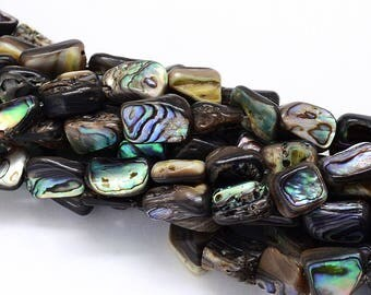 Pearl, Paua Shell, 1 strand