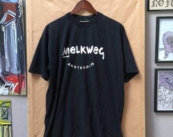 Vintage Melkweg Amsterdam Shirt Music Venue Europe Trend Sports Frank Black Lagwagon Milky Way