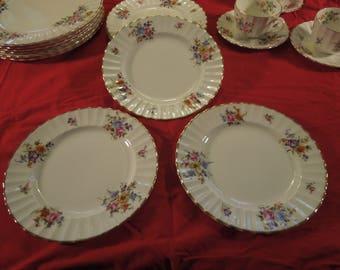 """Royal Worcester """"Roanoke"""" Salad Plates - Set of 3"""