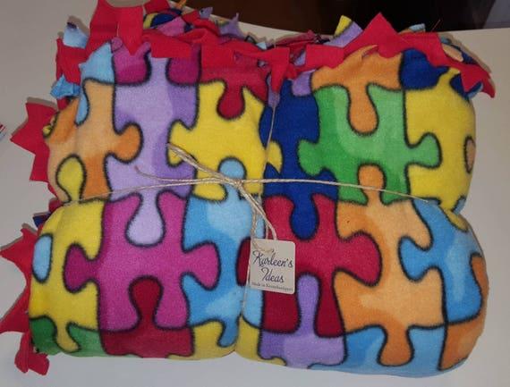 Puzzle Piece Blanket