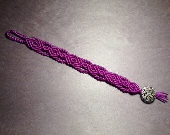 Spiral weave bracelet