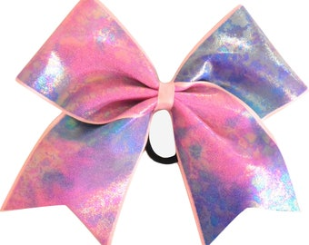 Mystique Cotton Candy Cheer Bow