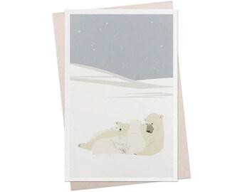96 / card / polar bear