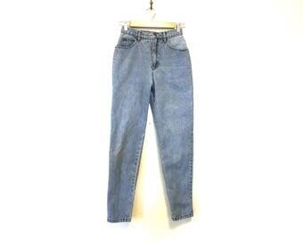 90s Vintage Mom Jeans / 6 Petite Vintage Liz Claiborne High Rise Jeans