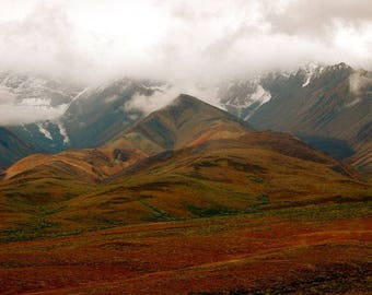 Alaska - Print, Denali National Park and Preserve, Alaska