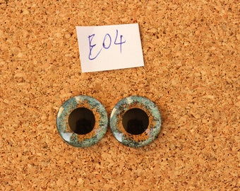 Eye Chips For Blythe Doll  Hand painted pair of eye chips no.E04