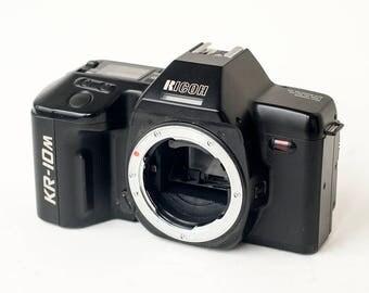 Ricoh KR-10M 35mm Camera Vintage Retro