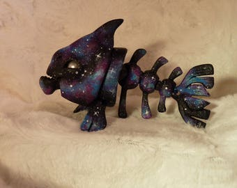 """Tendres Chimeres:  """"Lonely Star"""" Nya the Piranha BJD Doll artist cast"""