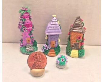 Mini Fairy Hut Collection (Lavender)