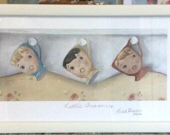 Little Miss Cutie Pies - Framed Print