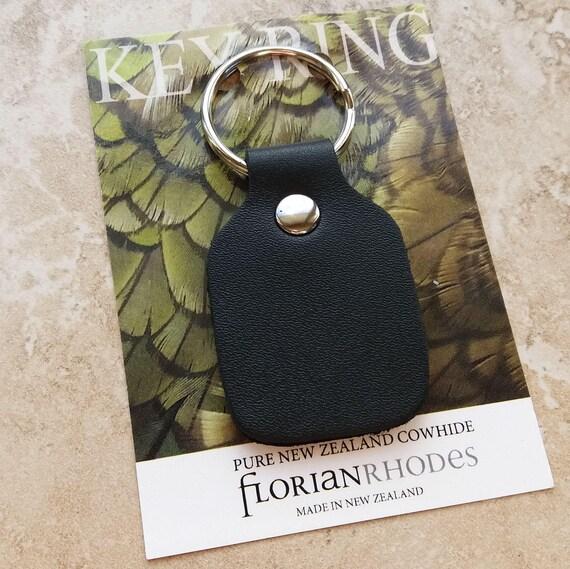 New Zealand Leather Key Chain/ Keyring