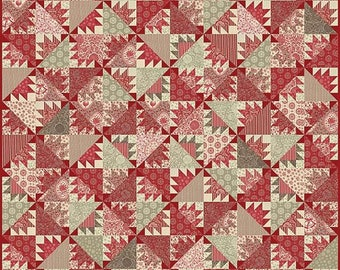 Pomme De Pin Quilt Pattern by French General