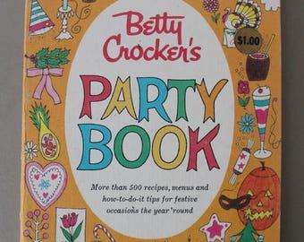 Betty Crocker's Party Book Recipes 1960