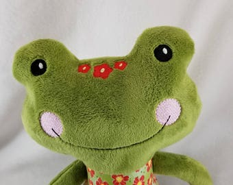 Cute Froggy Plush - Stuffed Frog - Stuffed Animal