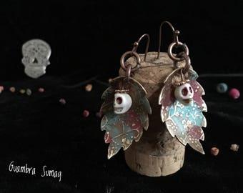 Sugarskull earrings
