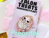 PREORDER Sharodactyl Cutiewatch Enamel Pins: Kawaii Reaper