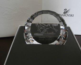 Swarovski Crystal 25 Years Wild Horses Paperweight 60 mm MIB - New