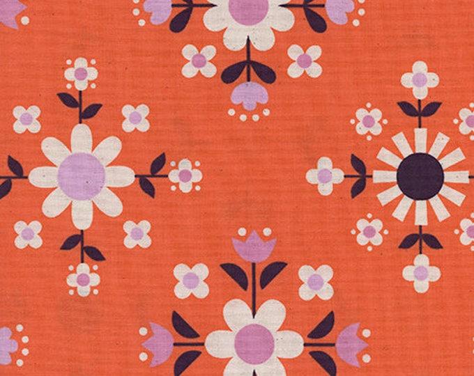 Pre-Sale- Florametry in Sweet Orange -Welsummer -Kim Kight for Cotton + Steel