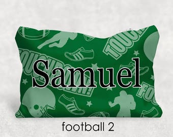 Personalized Football Pencil Pouch - Back To School - Personalized Gift - Teacher