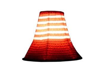 lamp shade pagoda velvet