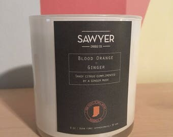 Blood Orange and Ginger Soy Candle