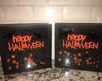 Happy Halloween Shadow Box