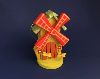 Dutch Windmill Christmas ornament (Large)