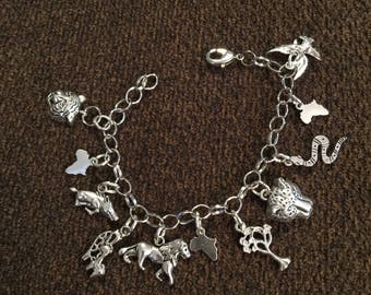 Africa Charm  Bracelet