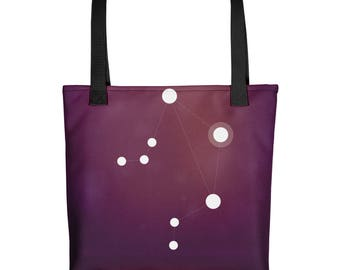 Tote bag - Zodiac Libra Constellation Tote Bag