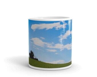 Mug - Red Silo Original Art - Field Sentinel