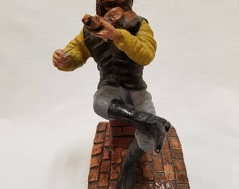 1967 Fiddler on the Roof Statue made in Israel