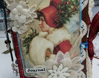 A Victorian Christmas Gift Journal
