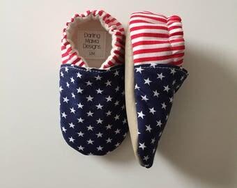 Patriotic Soft Sole Shoes