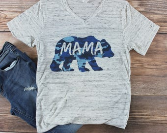 Momma Bear Shirt/ Mama Bear Shirt/ Maternity Shirt/ Pregnancy Announcement Shirt/ Pregnancy Shirt/ Graphic Tees for Women/ Mom Life Shirt/