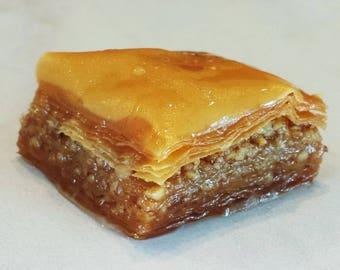 24 Classic Walnut Baklava Squares