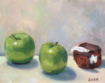 """Three of a Kind Painting 8""""x10"""" Digital Print"""